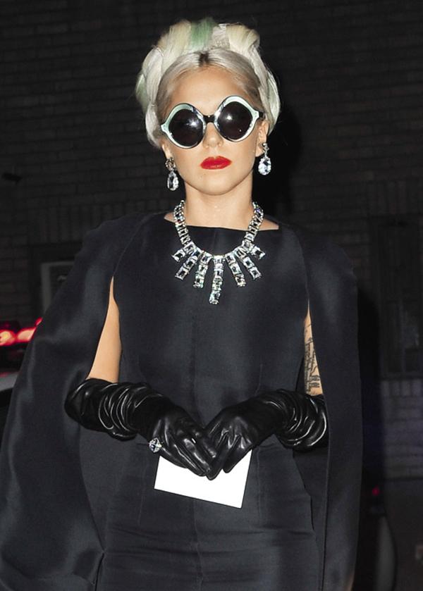 Леди Гага Одри Хепберн