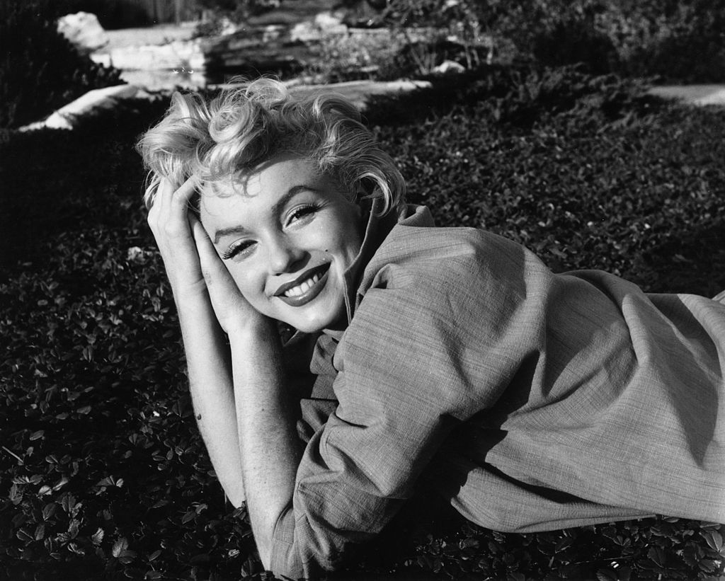1954: American film star Marilyn Monroe (1926-1962). (Photo by Baron/Getty Images)