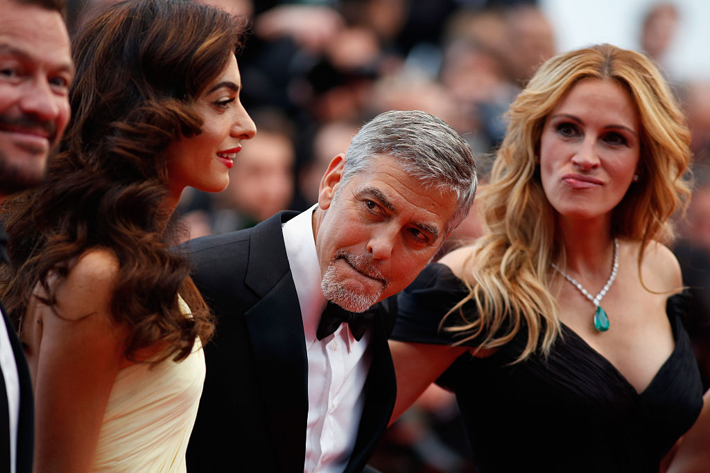 Амаль Клуни, Джордж Клуни, Джулия Робертс Каннский фестиваль 2016