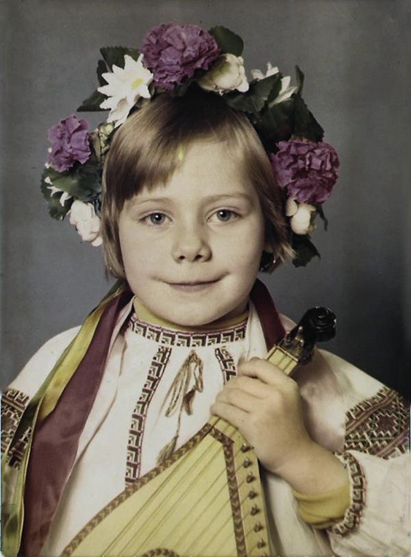 Слава Фролова детские фото
