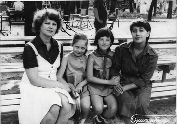 Слава Фролова семья