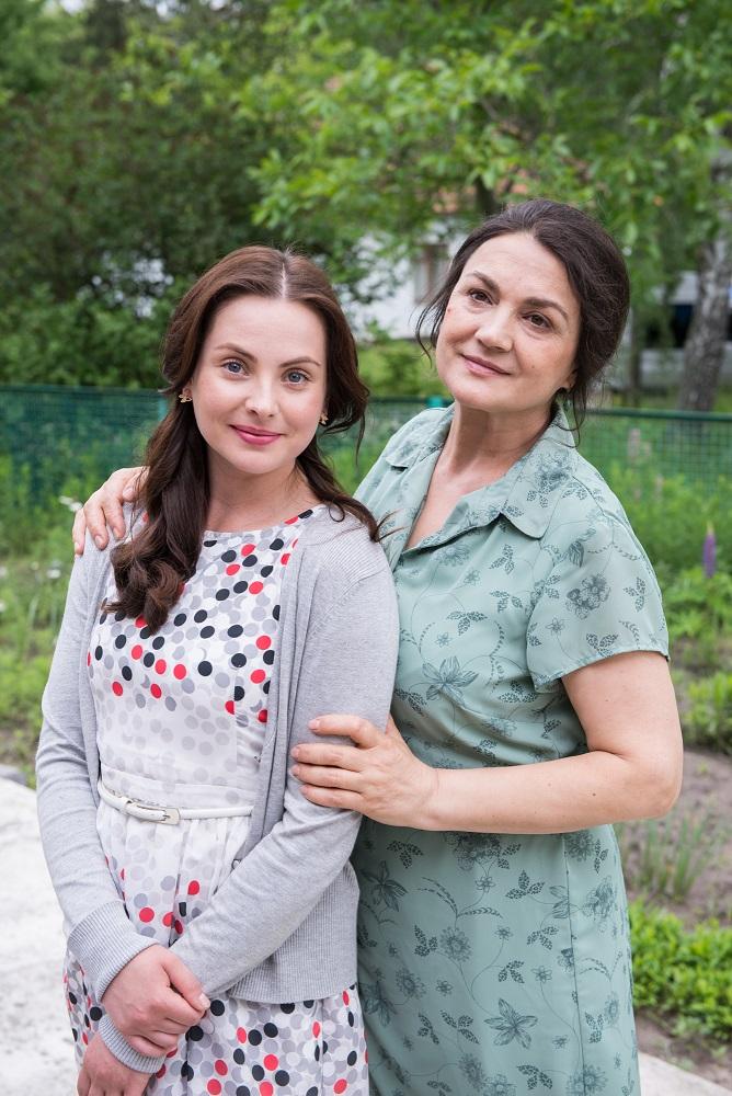 Катерина з мамою