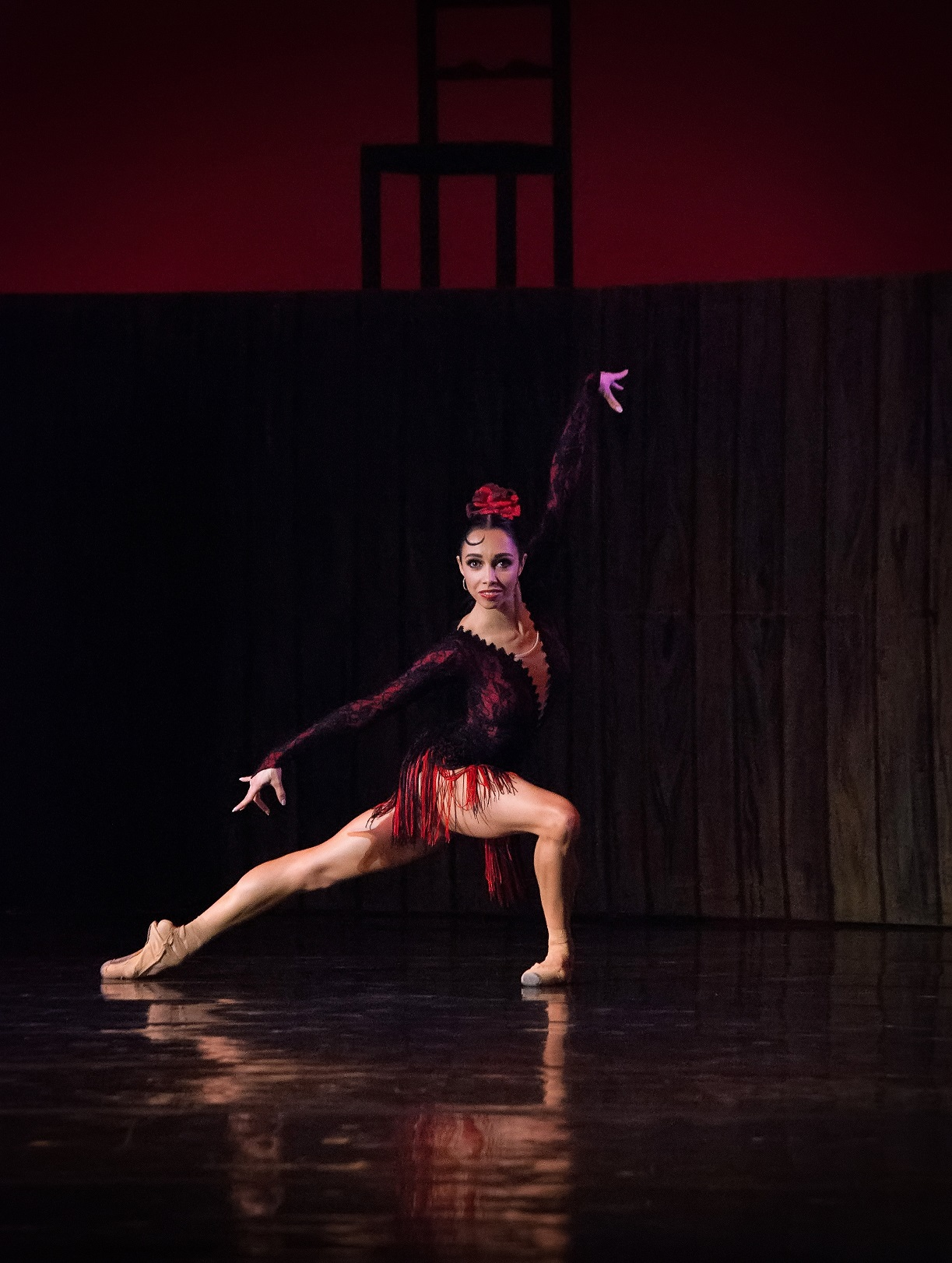 Прима-балерина Екатерина Кухар