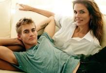 Синди Кроуфорд с сыном