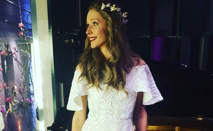 Катя Осадчая свадебное платье