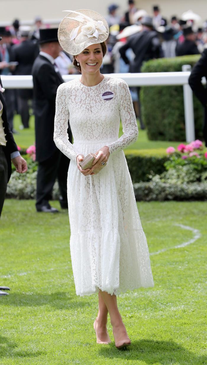 кейт Миддлтон Royal Ascot 2016