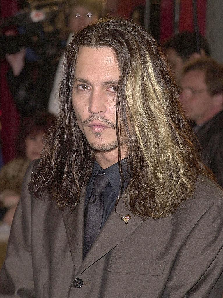 Джонни Депп в марте 2001
