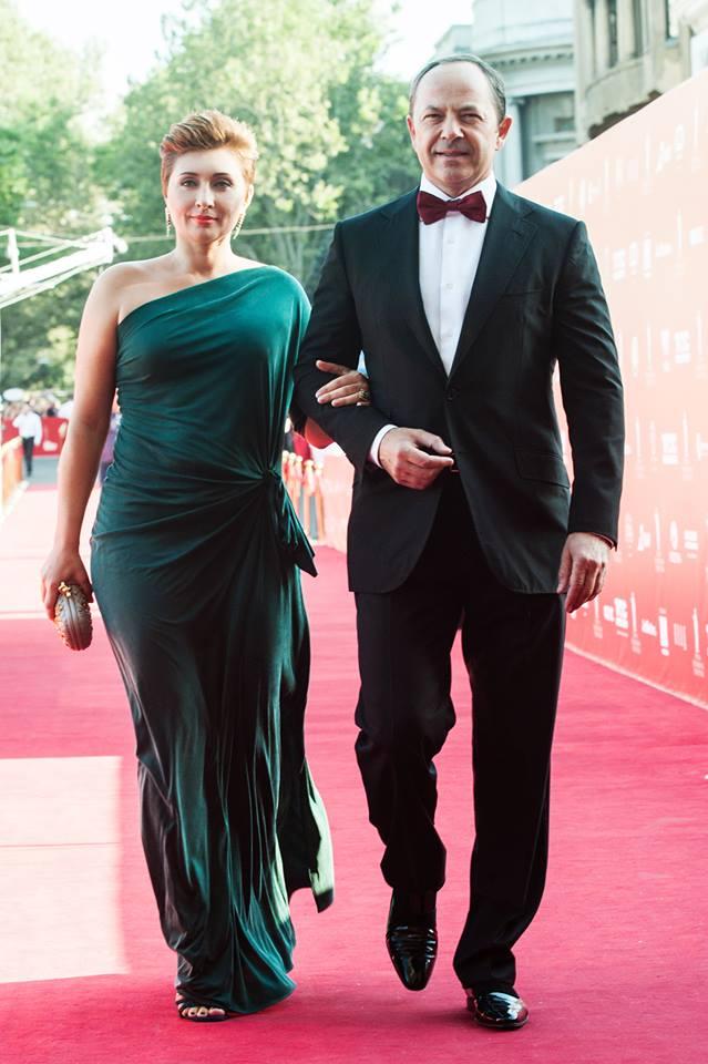 Виктория и Сергей Тигипко