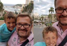 Александр Пономарев с сыном 2016