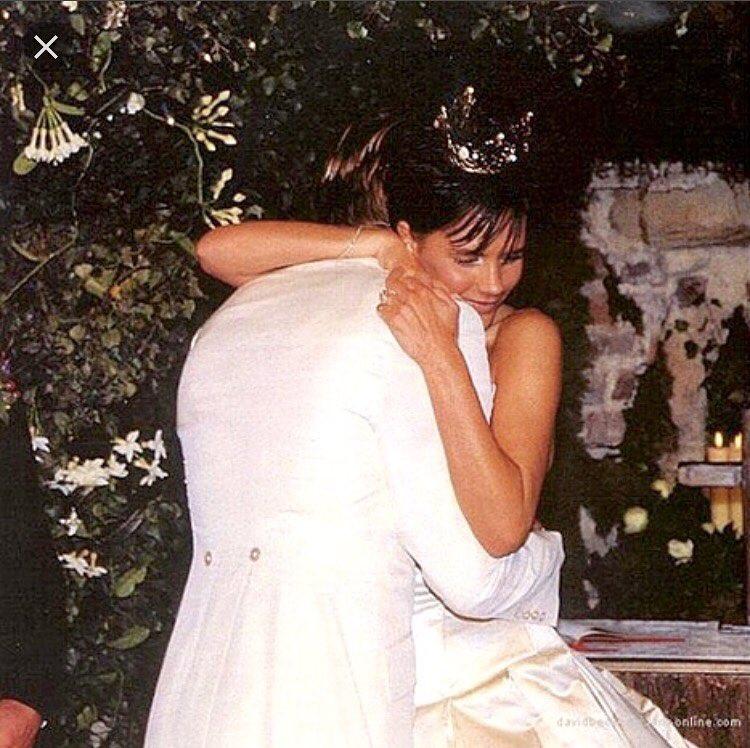 свадьба Бекхэмов 1999 год
