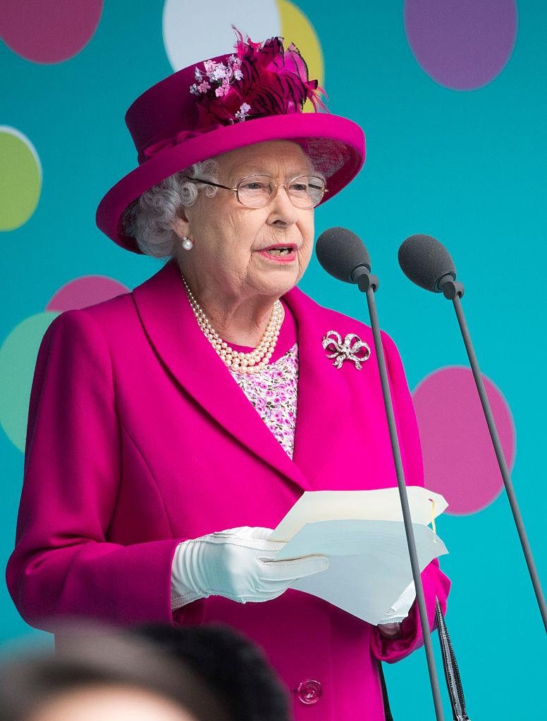 Королева Елизавета 2016
