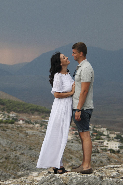 Летний отпуск: Соломия Витвицкая с мужем Владиславом, 2015 г.