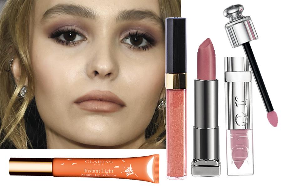 Лили-Роуз Депп макияж