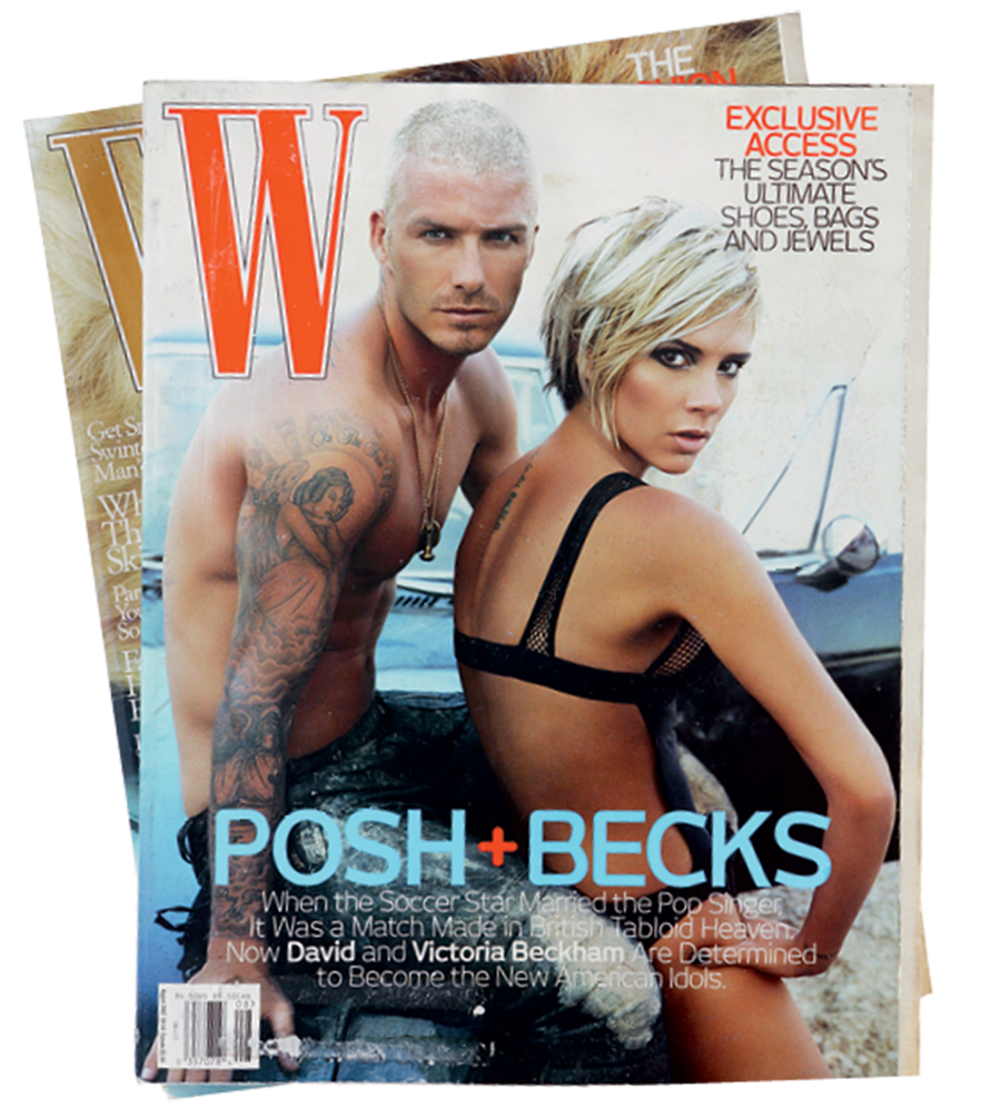 Дэвид и Виктория Бэкхем W Magazine