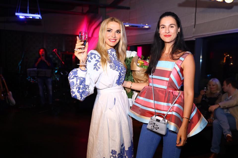Ольга Сумская с Машей Ефросининой