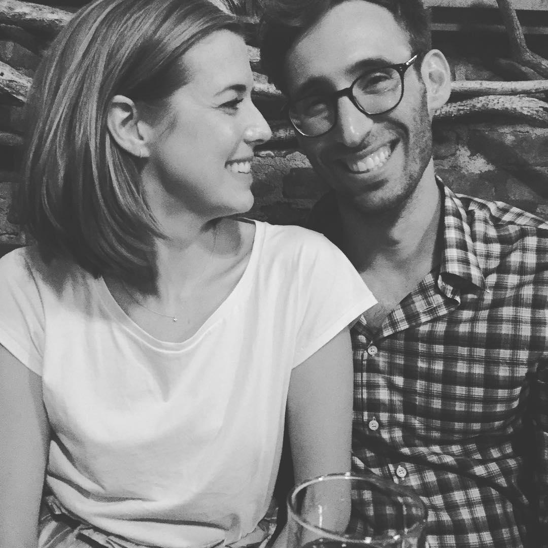 Агнесс Дейн с мужем