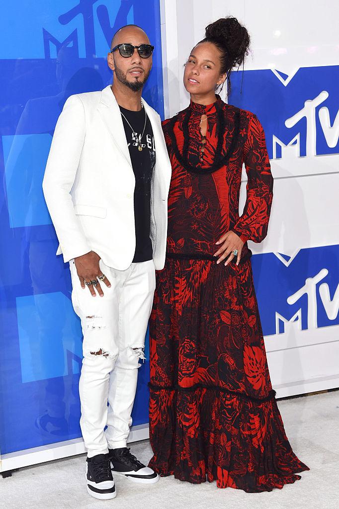 Алиша Киз с мужем