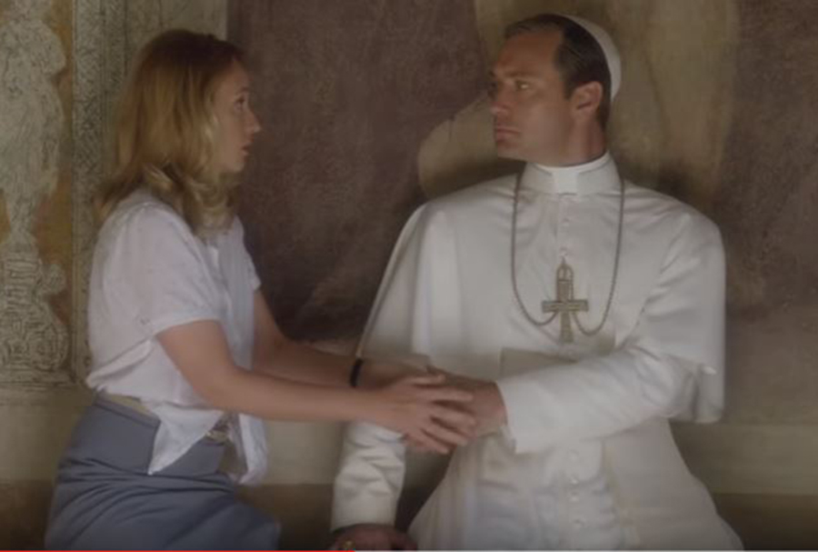 Джуд Лоу Молодой папа 4