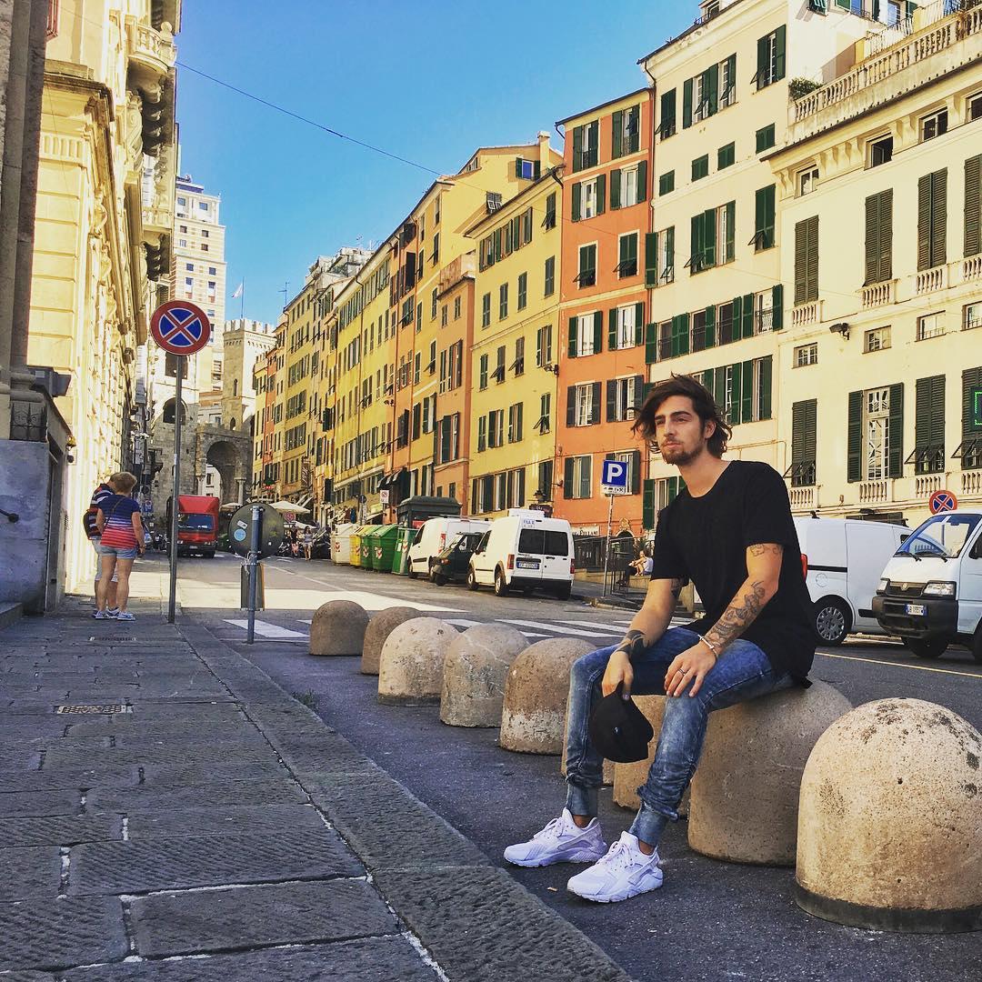 Дантес в Генуе