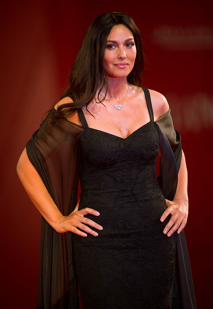 """VENICE, ITALY - SEPTEMBER 02: Actress Monica Bellucci attends the """"Un Ete Brulant"""" premiere during the 68th Venice Film Festival at Palazzo del Cinema on September 2, 2011 in Venice, Italy. (Photo by Ian Gavan/Getty Images)"""