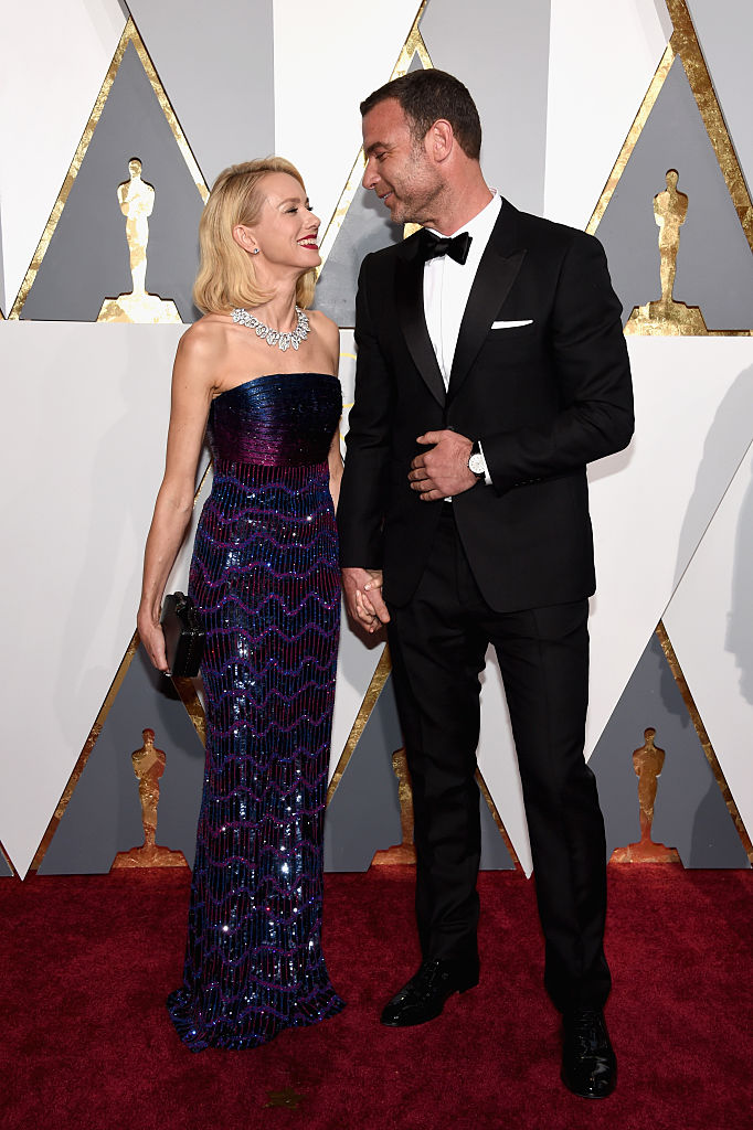Наоми Уоттс и Лив Шрайбер на церемонии Оскар 2016