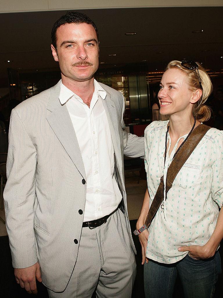 Лиш Шрайбер и Наоми Уоттс 2005 год