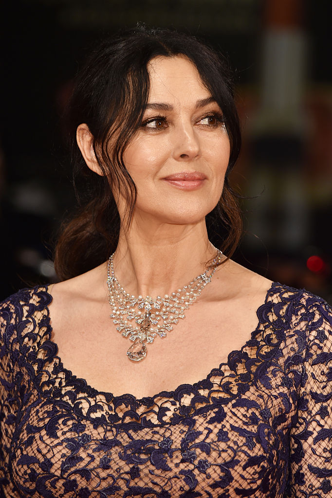 VENICE, ITALY - SEPTEMBER 09: Monica Bellucci attends the premiere of 'On The Milky Road' during the 73rd Venice Film Festival at Sala Grande on September 9, 2016 in Venice, Italy. (Photo by Pascal Le Segretain/Getty Images)