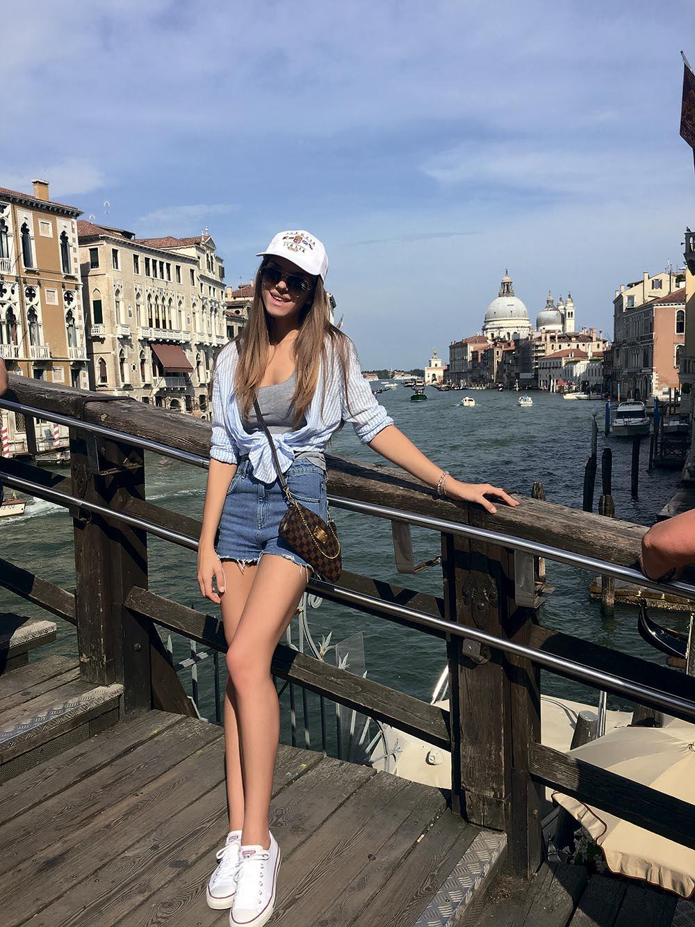 Катя Гуменюк в Венеции