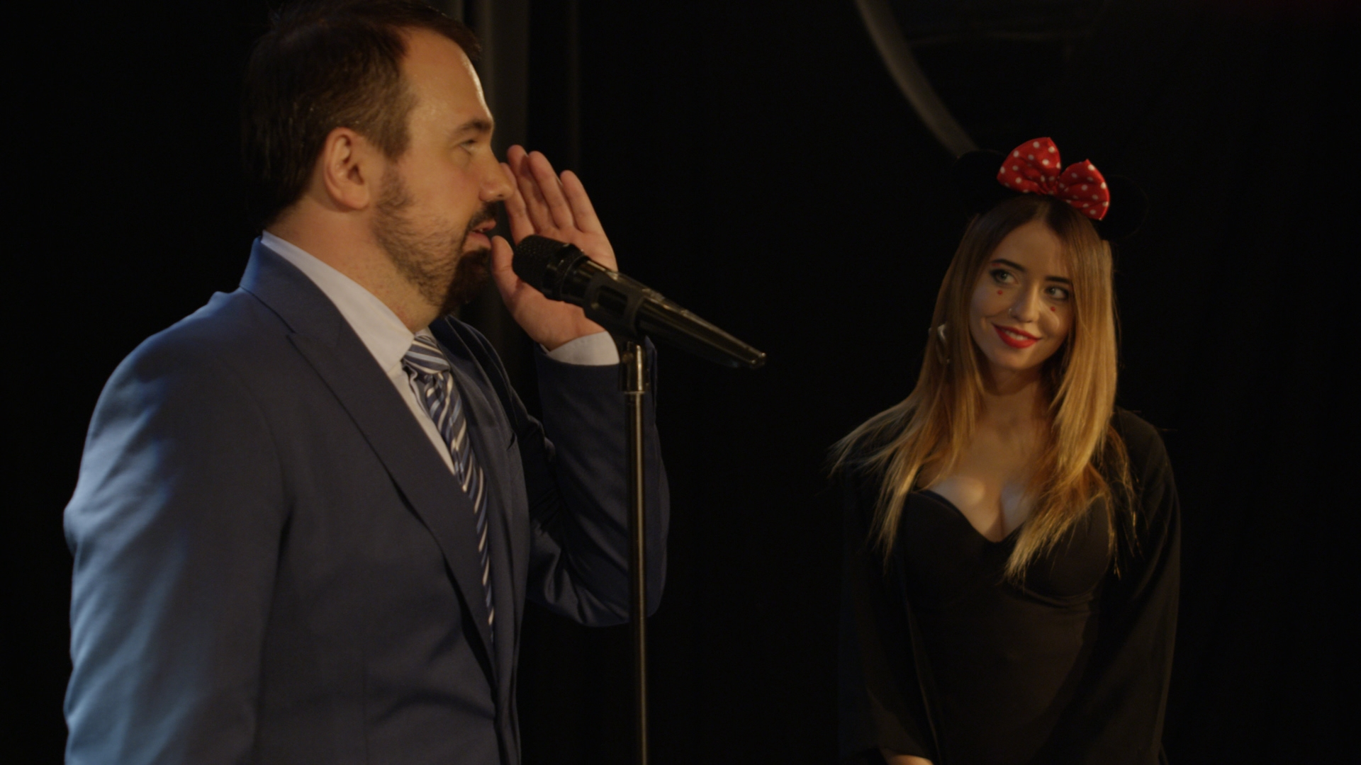 Антон Лирнык и Надя Дорофеева