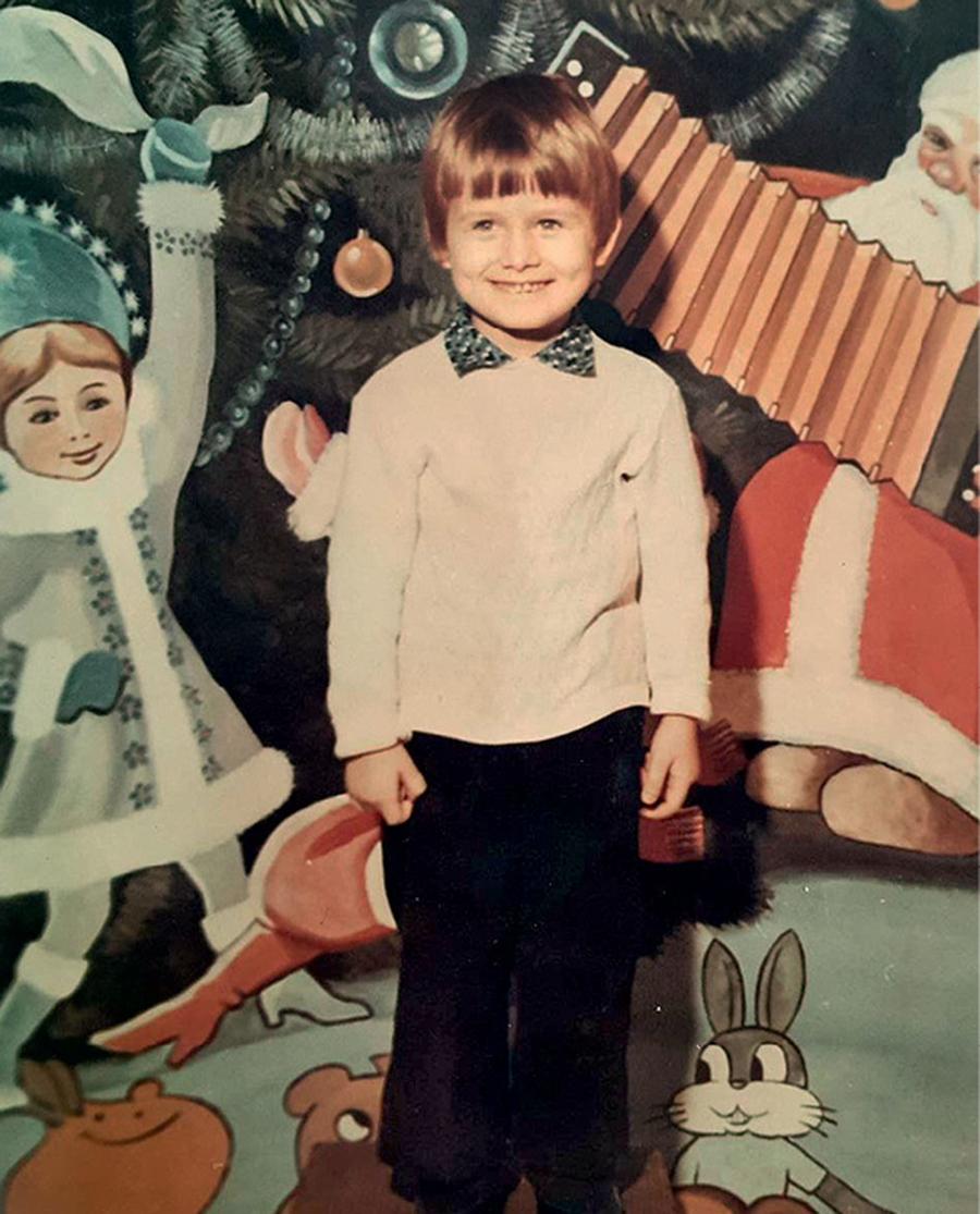 Вячеслав Узелков детские фото