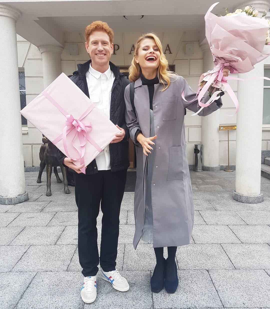 Денис Христов и Даша Коломиец