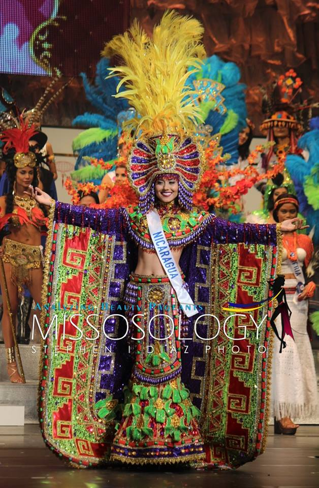 национальный костюм Мисс Никарагуа
