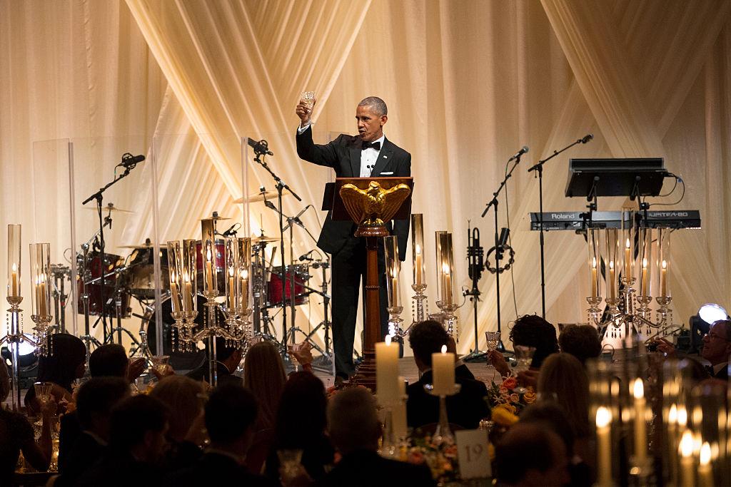 Барак Обама прощальній ужин