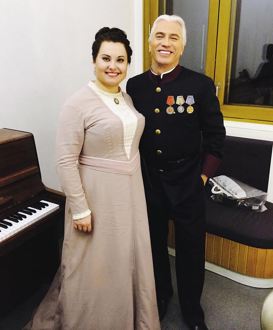 Людмила Монастырская, Дмитрий Хворостовский