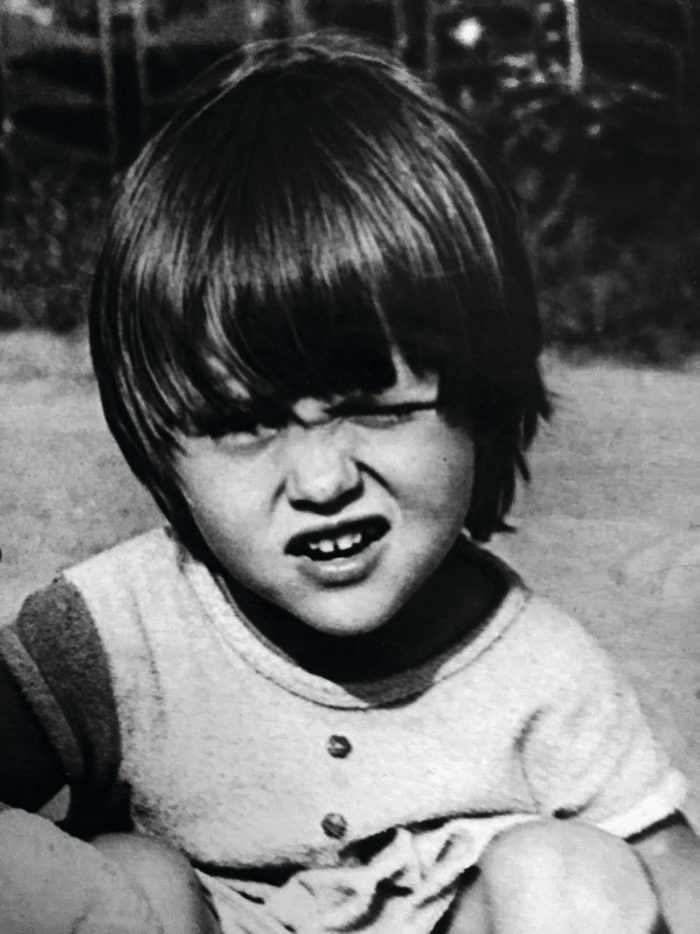 Оля Полякова в 1987 году