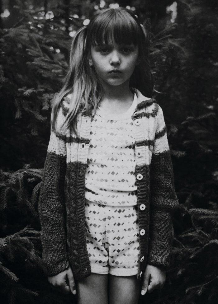 Оля Полякова в 1989 году