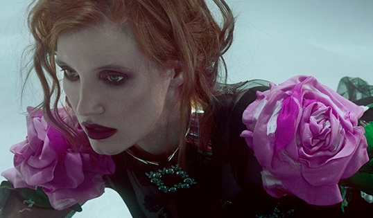 Джессика Честейн Vogue UA