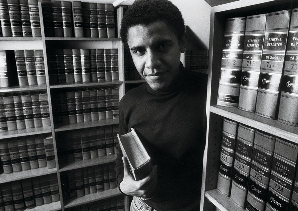 Барак Обама в молодости