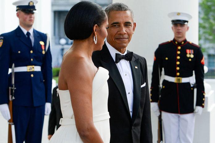 Барак и Мишель Обамы
