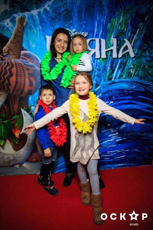 Валентина Хамайко с детьми