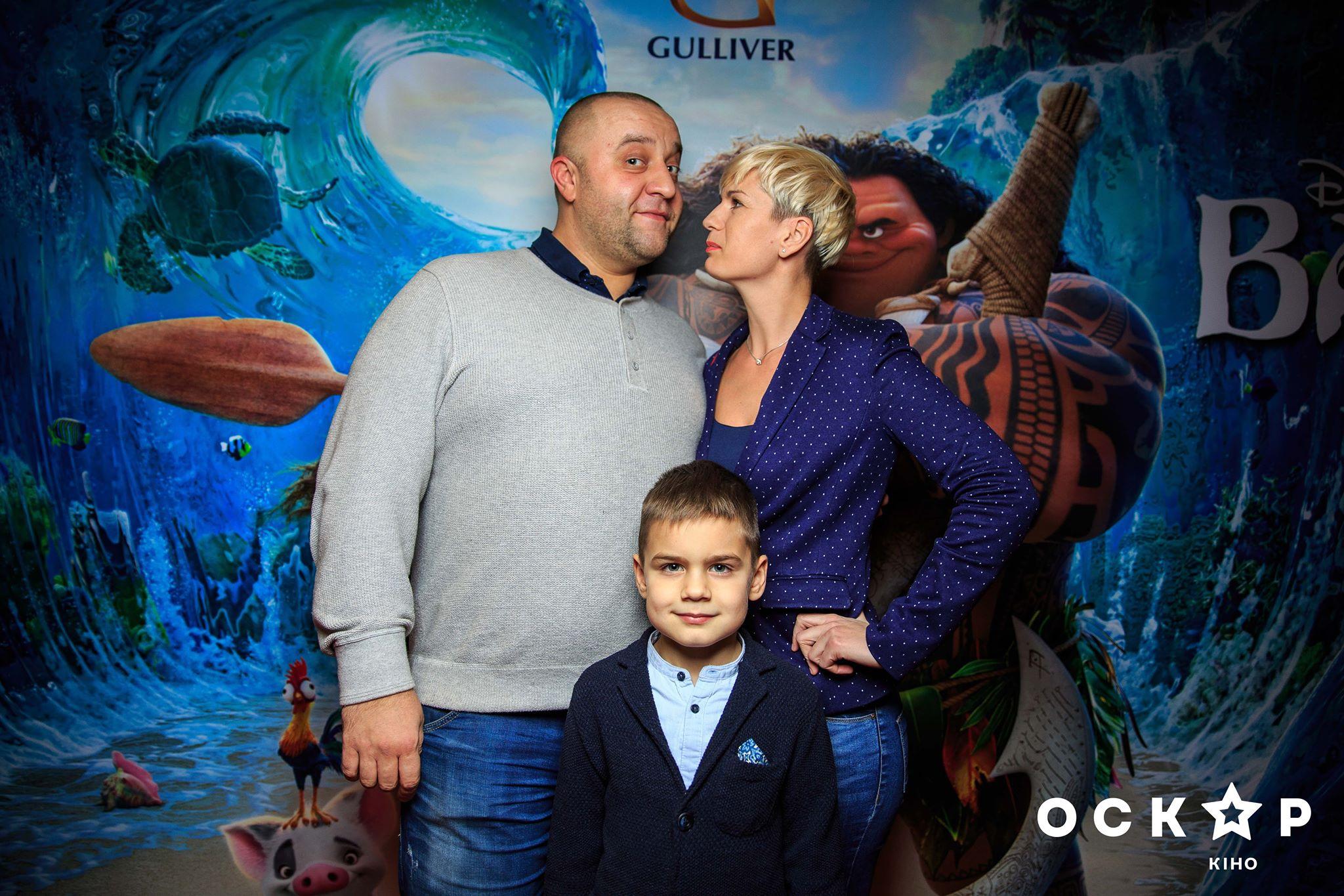 Актер «Дизель-шоу» Егор Крутоголов с семьей