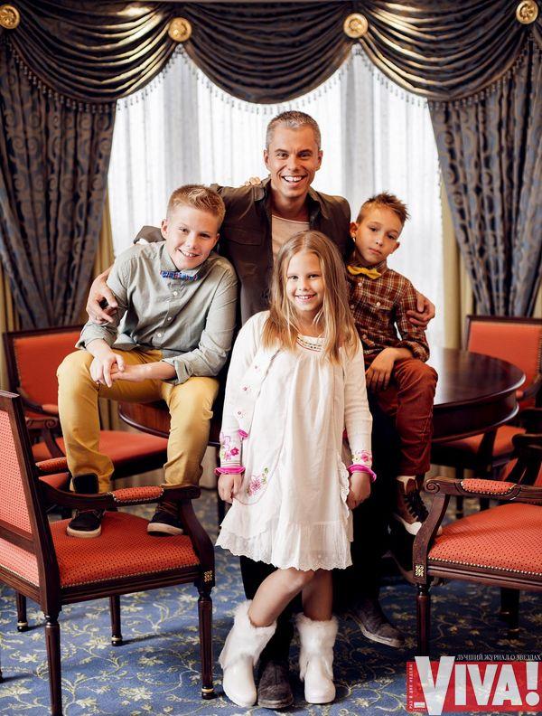 Андрей Доманский дети