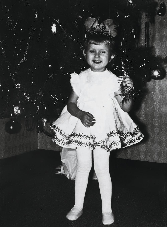 Ольга Горбачева в детстве