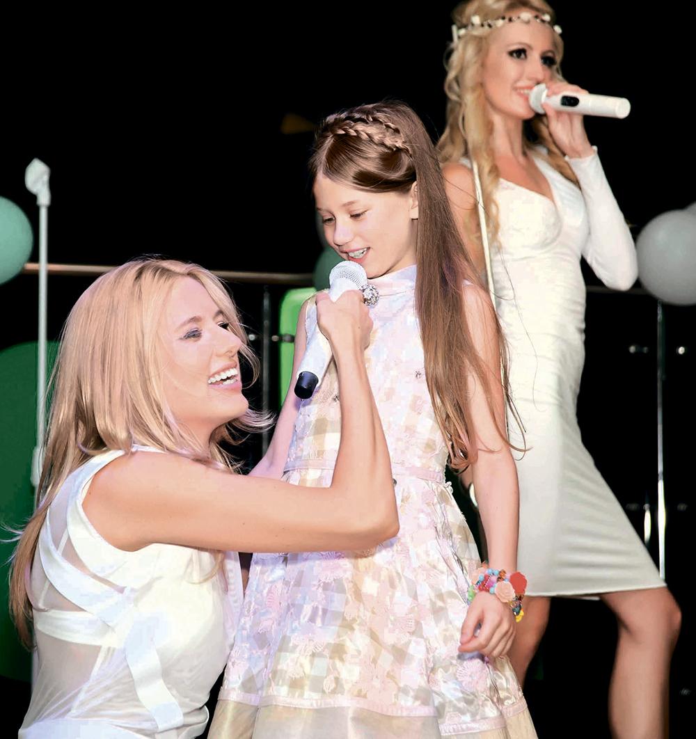 Ольга Горбачева с дочкой Полиной