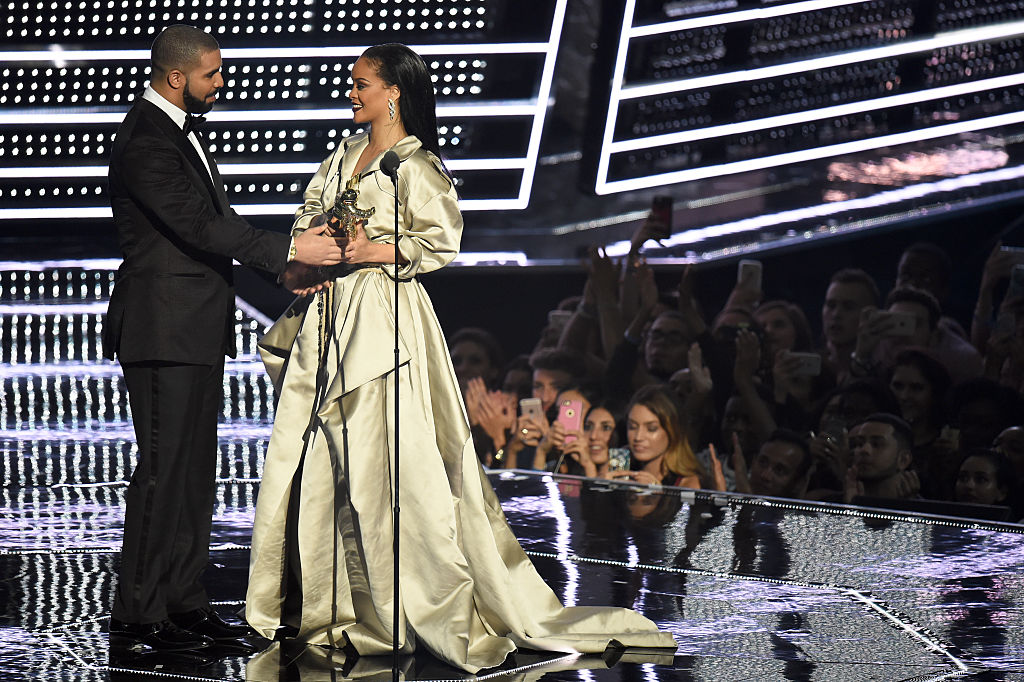 Дрейк Рианна MTV Video Music Awards 2016