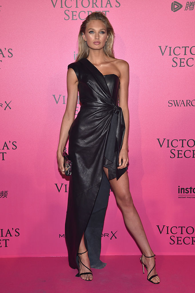 attends the 2016 Victoria's Secret Fashion Show after party on November 30, 2016 in Paris, France.