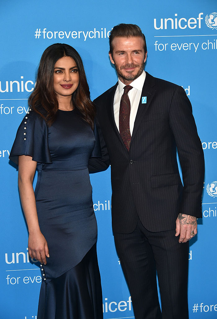 attends UNICEF's 70th Anniversary Event at United Nations Headquarters on December 12, 2016 in New York City.