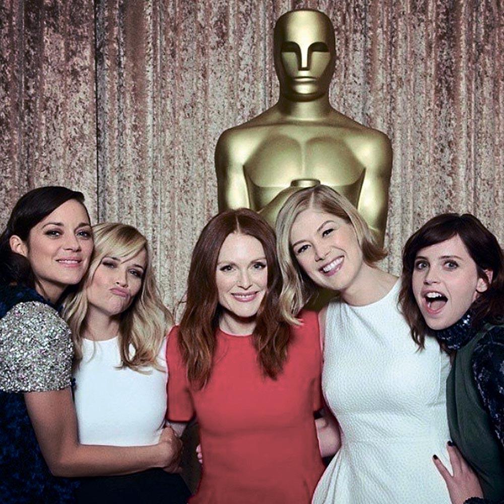 """Номинантки на """"Оскар 2015"""""""