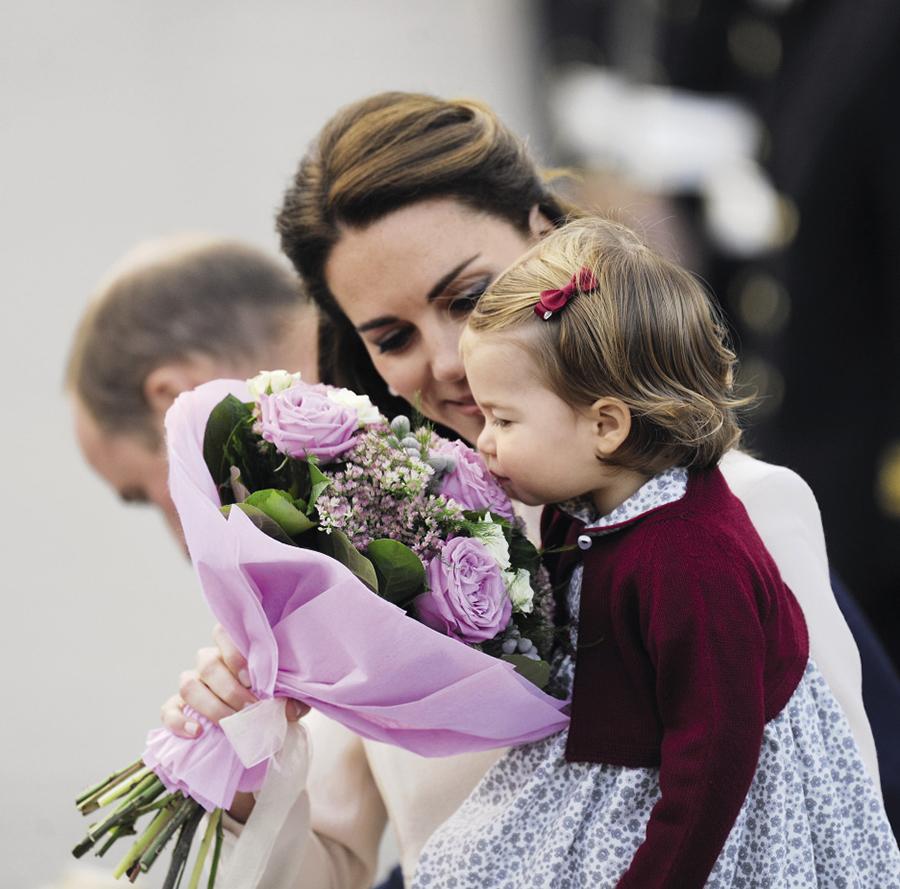 Кейт Миддлтон, принцесса Шарлотта
