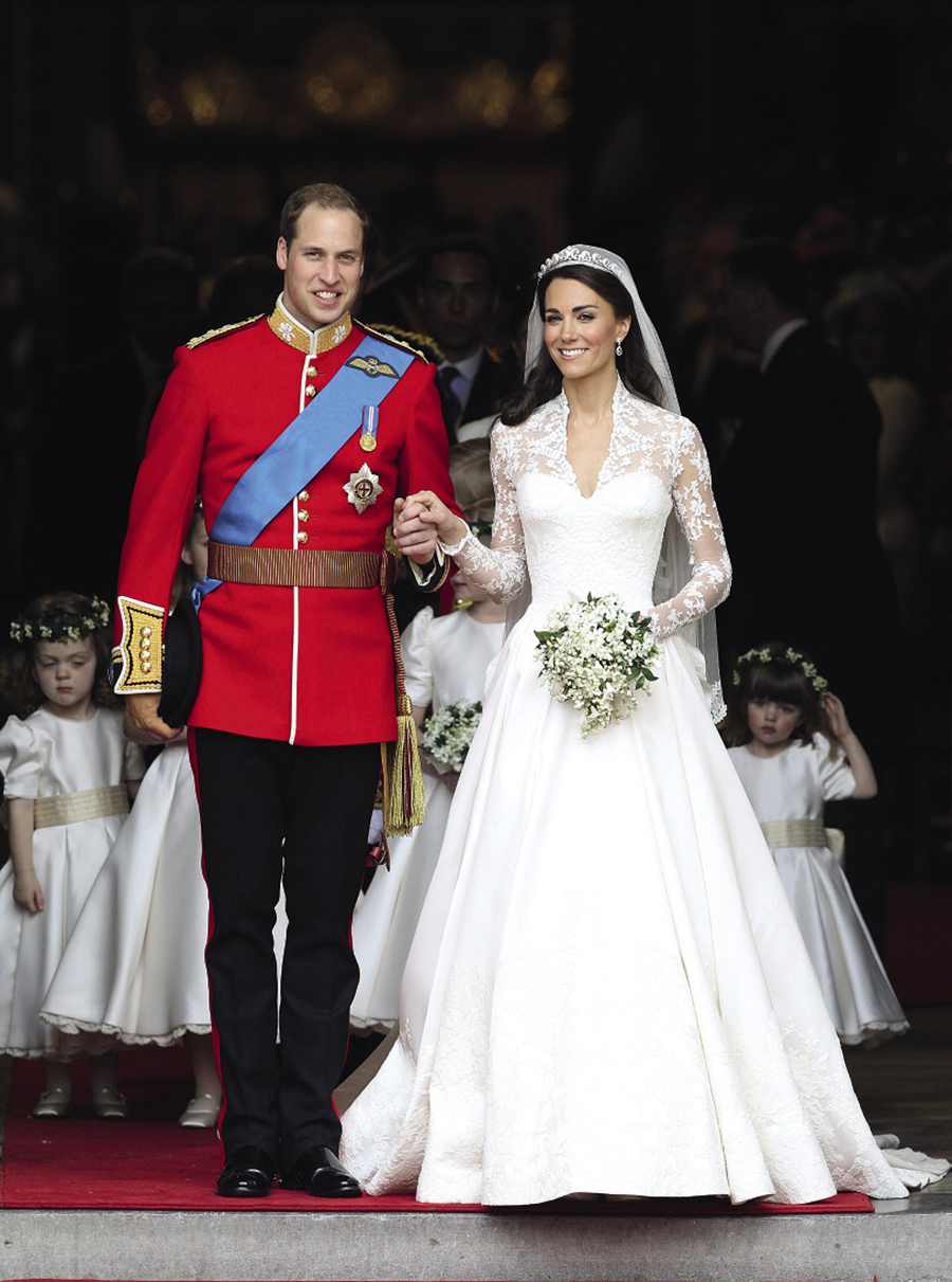 Кейт Миддлтон, Принц Уильям, свадьба